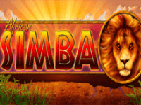 African Simba на рабочем зеркале