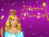 На зеркале Magic Princess