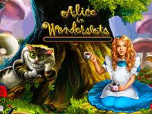 Игровой автомат Алиса В Стране Чудес с бонусами и призами
