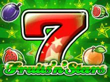 Виртуальный игровой автомат Фрукты и Звезды в онлайн казино Буран